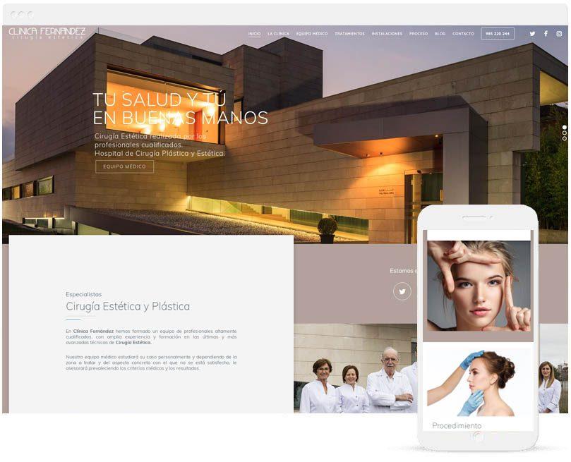 Web ClinicaFernandez