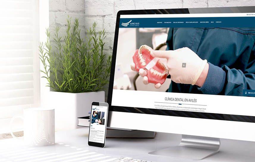 Nuevo diseño web para dentistas